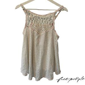 Free People Lacey Flowy Top- NWT!